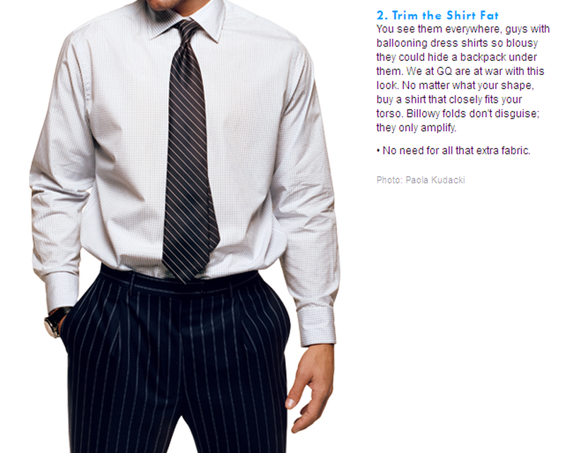 gq article c level dress shirts